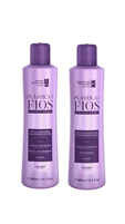 Smoothing Shampoo & Conditioner 300ml Plastica dos Fios
